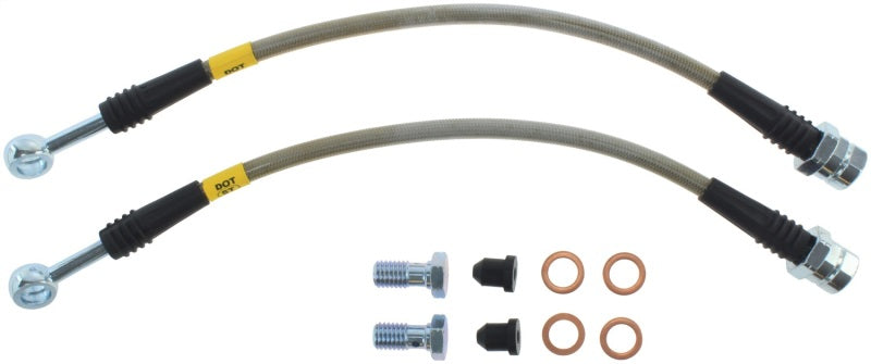 StopTech 2015 VW Golf R Stainless Steel Rear Brake Lines
