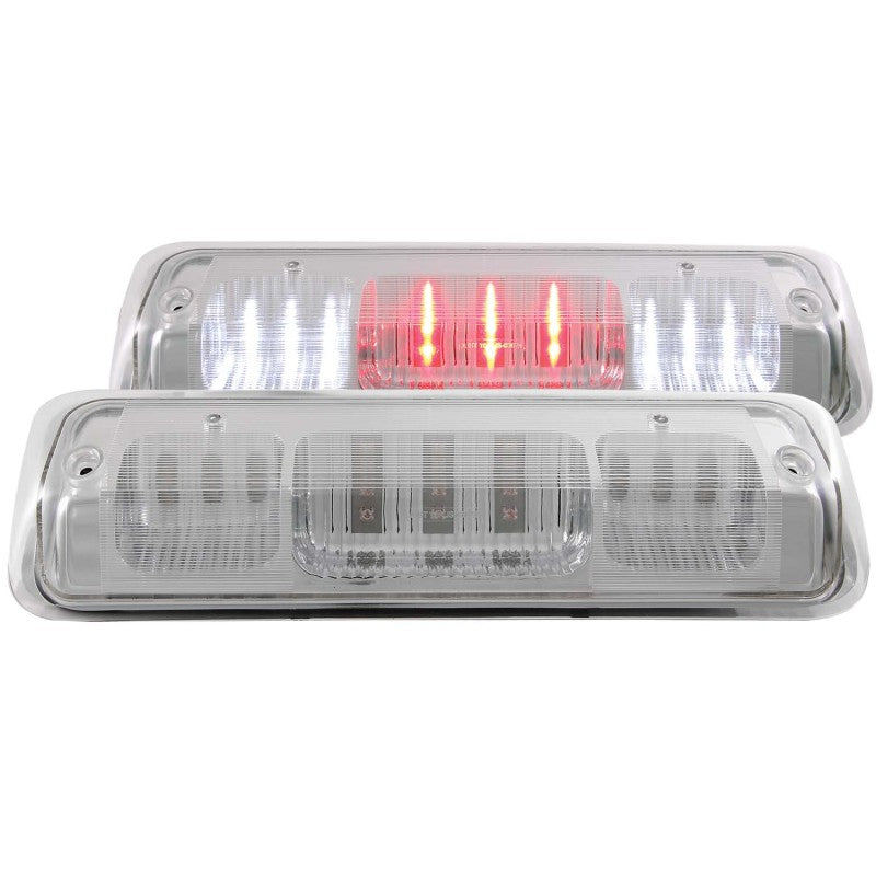 ANZO 2009-2015 Dodge Ram 1500 LED 3rd Brake Light Chrome B - Series