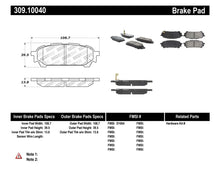 Load image into Gallery viewer, StopTech Performance 03-05 WRX Rear Brake Pads