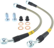Load image into Gallery viewer, StopTech 03-09 Hummer H2 Rear Brake Lines