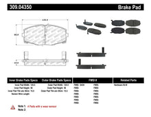 Load image into Gallery viewer, StopTech Performance 87-92 MK3 Supra Front Brake Pads