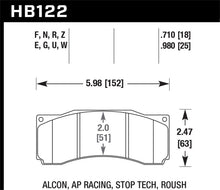 Load image into Gallery viewer, Hawk Stoptech ST-60 Caliper HP+ Street Brake Pads
