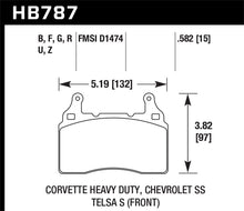 Load image into Gallery viewer, Hawk 15-17 Chevy Corvette Z06 DTC-60 Race Front Brake Pads