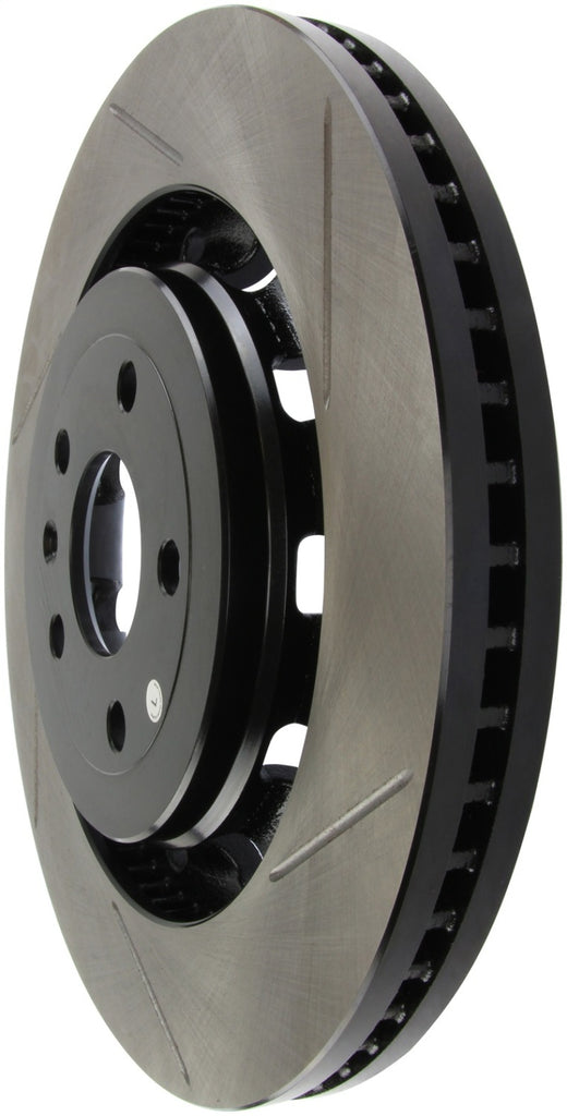 StopTech 17 Ford Flex/ 17 Ford Explorer w/ Heavy Duty Brakes Front Left Slotted Rotor