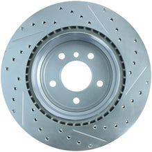 Load image into Gallery viewer, StopTech Select Sport 07-13 BMW 335i Slotted & Drilled Vented Right Rear Brake Rotor
