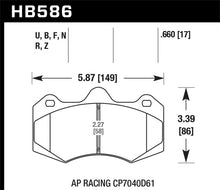 Load image into Gallery viewer, Hawk 2014 McClaren MP4-12C (Spider) DTC-60 Rear Race Brake Pads