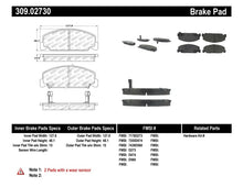 Load image into Gallery viewer, StopTech Performance 93-00 Honda Civic DX w/ Rr Drum Brakes Front Brake Pads