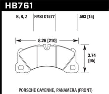 Load image into Gallery viewer, Hawk 10-13 Porsche Panamera / 15-17 Porsche Macan Turbo HPS 5.0 Front Brake Pads