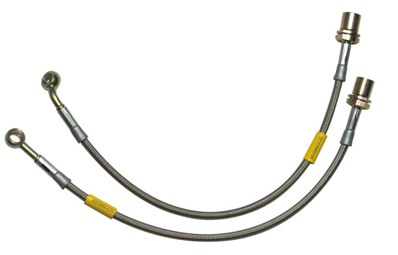 Goodridge 01-05 Honda Civic w/ Rear Drum Brake Lines