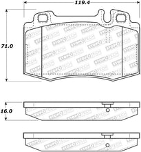 Load image into Gallery viewer, StopTech 02-06 Mercedes-Benz S500 / 03-06 Mercedes-Benz CL500 Street Performance Front Brake Pads