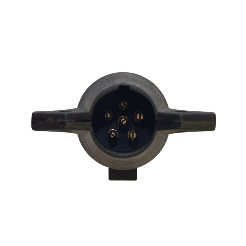 Westin 7-Way Round to 6-Way Brakes to Center Pin (A) - Black