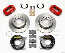 Load image into Gallery viewer, Wilwood Forged Dynalite P/S Park Brake Kit Red New Big Ford 2.50in Offset Front Caliper Mount