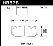 Load image into Gallery viewer, Hawk 12-17 BMW M6 / 14-17 BMW M6 Gran Coupe / 13-16 BMW M5 HPS 5.0 Front Brake Pads