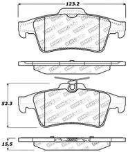Load image into Gallery viewer, StopTech Performance 07-09 Mazdaspeed3 / 06-07 Mazdaspeed6 / 06-07 Mazda3 Rear Brake Pads