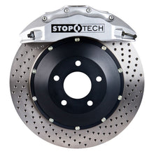Load image into Gallery viewer, StopTech 10-15 BMW 535i/550i ST-60 Silver Drilled Calipers 380x35mm Rotors Front Big Brake Kit