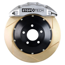 Load image into Gallery viewer, StopTech 09-16 Audi A4/A4 Quattro ST-60 Silver Calipers 355x32mm Slotted Rotors Front Big Brake Kit