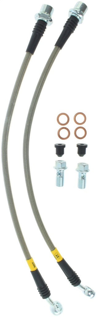 StopTech 00-05 Lexus IS300 / 02-08 SC430 Front Stainless Steel Brake Lines