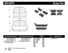 Load image into Gallery viewer, StopTech Performance 1/90-95/00-05 Toyota MR2/Spyder Rear Brake Pads
