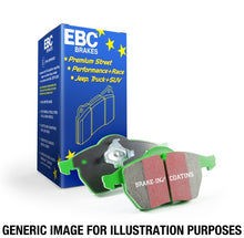 Load image into Gallery viewer, EBC 98-02 Subaru Forester 2.5 Greenstuff Front Brake Pads