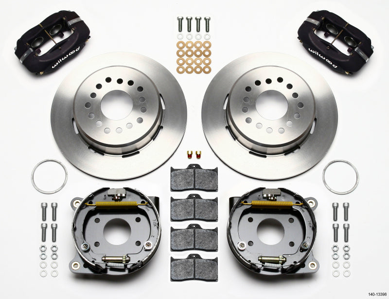 Wilwood Forged Dynalite P/S Park Brake Kit AMC 71-74 2.60in Offset
