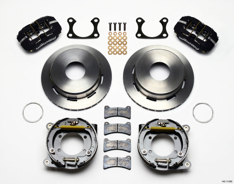 Wilwood Dynapro Low-Profile 11.00in P-Brake Kit Big Ford 2.36in Offset Currie