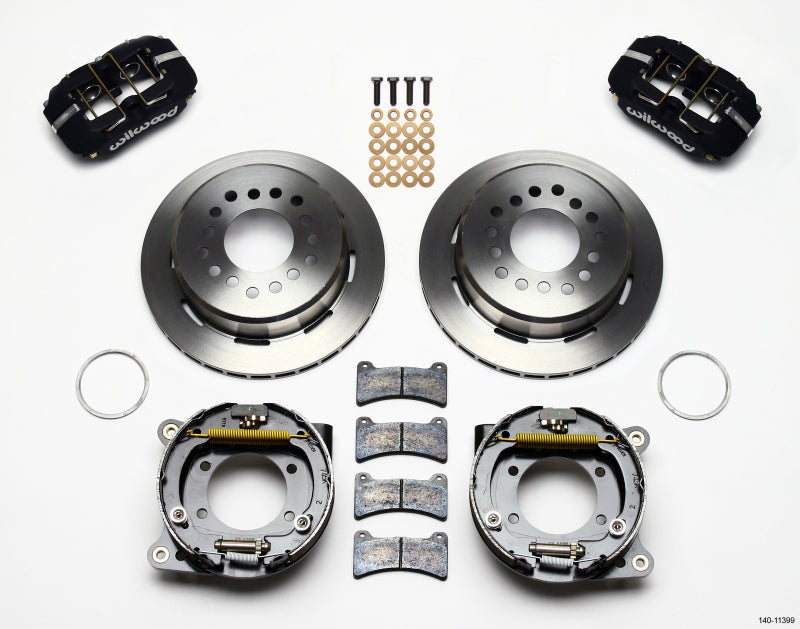 Wilwood Dynapro Low-Profile 11.00in P-Brake Kit 93-97 Camaro/Firebird 2.75in Offset