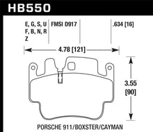 Load image into Gallery viewer, Hawk DTC-80 01-05 Porsche 911 (996) Race Brake Pads