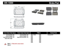 Load image into Gallery viewer, StopTech Performance 08+ Mitsubishi Evolution X Rear Brake Pads