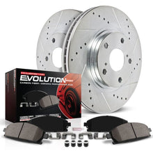Load image into Gallery viewer, Power Stop 06-10 Hyundai Sonata Front Z23 Evolution Sport Brake Kit