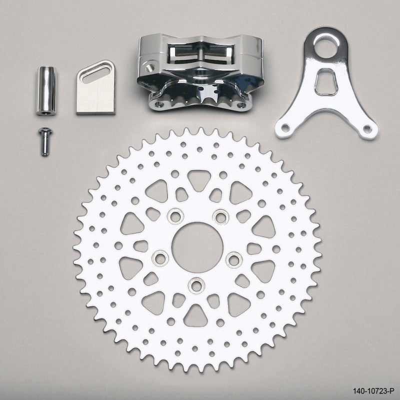 Wilwood Brake Kit GP310 L/H Sprocket Rear Polish 51 Tooth
