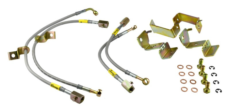 Goodridge 05-12 Ford Mustang w/ ABS Brake Lines
