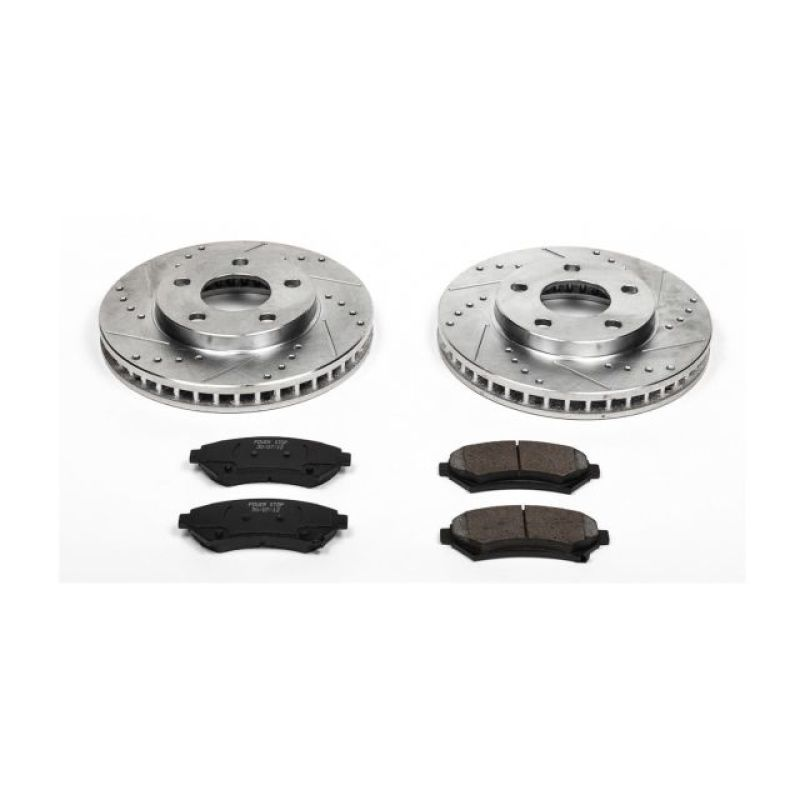 Power Stop 97-05 Buick Century Front Z23 Evolution Sport Brake Kit