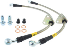 Load image into Gallery viewer, StopTech 00-05 Honda S2000 Rear SS Brake Lines
