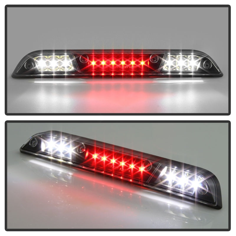 xTune 15-17 Ford F-150 (Not LED Brake/BLIS Tail Compat.)LED 3RD Brake Lght Blk BKL-JH-FF15015-LED-BK