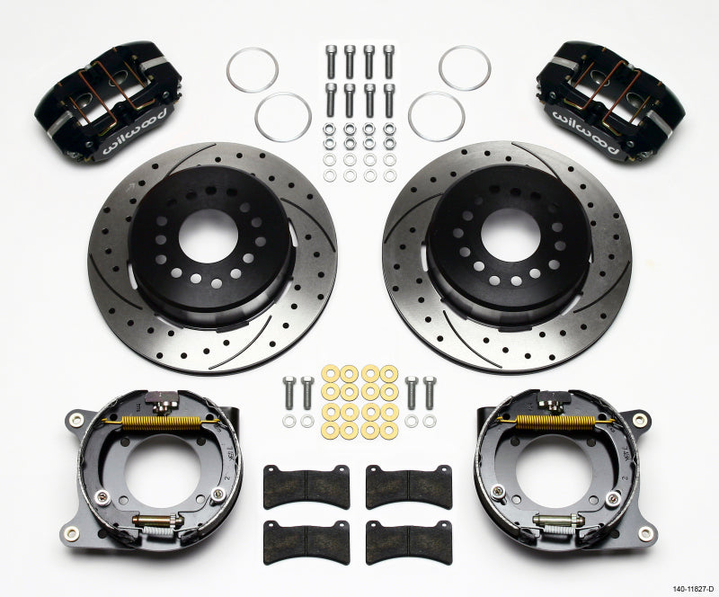 Wilwood Dynapro Low-Profile 11.00in P-Brake Kit Drilled Impala 59-64 / Corvette 57-62