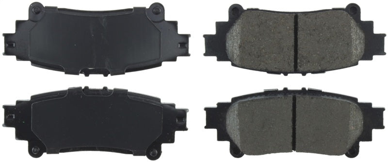 StopTech 14-17 Lexus IS350 Street Performance Rear Brake Pads