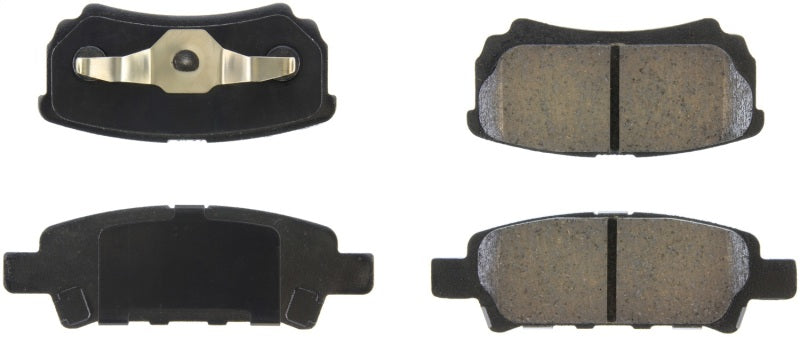 StopTech 07-17 Jeep Patriot Street Performance Rear Brake Pads
