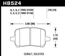Load image into Gallery viewer, Hawk 05-07 Cobalt SS / 08-09 HHR / 04+ Malibu / 07A+ G5 GT / 06+ G6 / HP+ Street Front Brake Pads