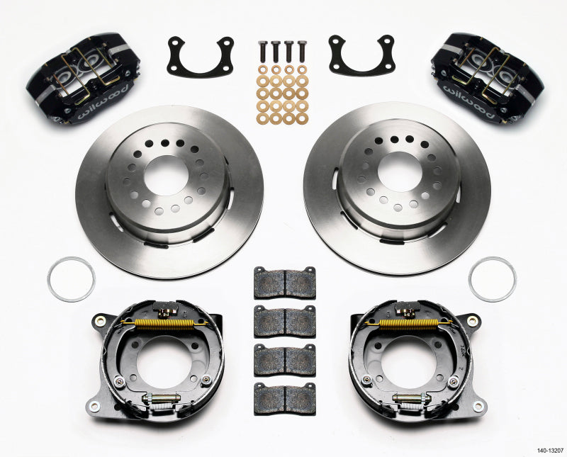 Wilwood Dynapro Dust-Boot P/S Park Brake Kit New Big Ford 2.50in Offset