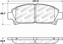 Load image into Gallery viewer, StopTech Performance 92-95 Toyota MR2 Turbo Front Brake Pads