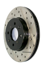 Load image into Gallery viewer, StopTech 11-17 Dodge Durango Sport Slotted & Drilled Rear Driver-Side Brake Rotor
