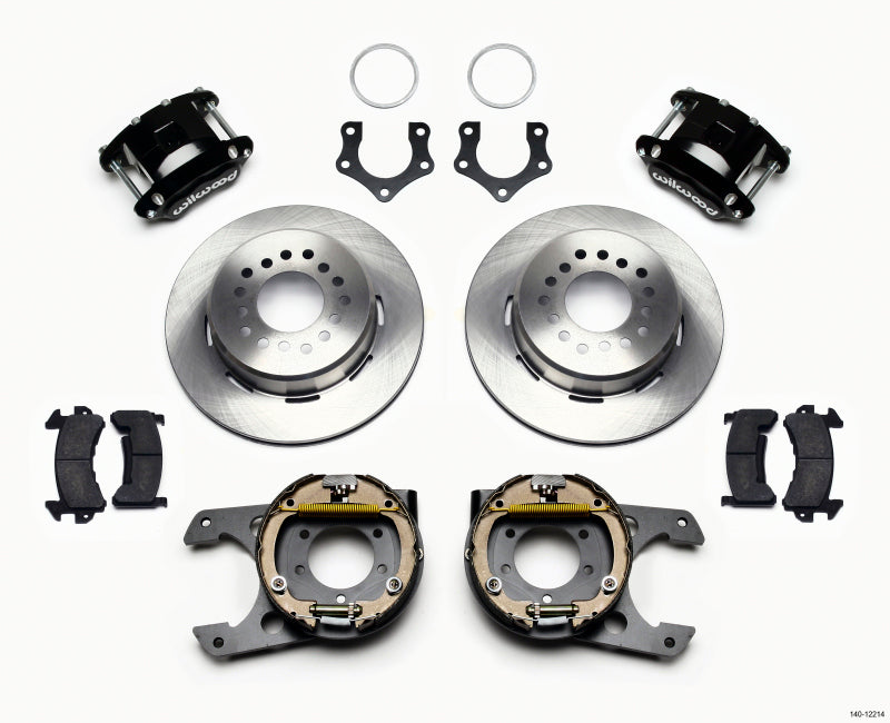Wilwood D154 P/S Park Brake Kit Mopar/Dana 2.36in Off w/Snap Ring Brng