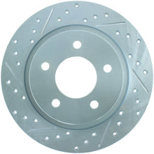 Load image into Gallery viewer, StopTech Select Sport 09-13 Mazda 3 Slotted & Drilled Right Rear Brake Rotor