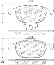 Load image into Gallery viewer, StopTech Performance 04-09 Mazda 3 Front Brake Pads