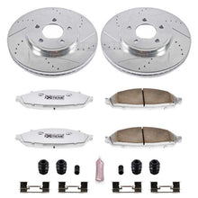 Load image into Gallery viewer, Power Stop 03-11 Ford Crown Victoria Front Z26 Street Warrior Brake Kit