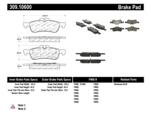Load image into Gallery viewer, StopTech Performance 02-06 Mini Rear Brake Pads