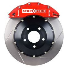 Load image into Gallery viewer, StopTech 08-10 BMW 550i w/ Red ST-60 Calipers 380x32mm Slotted Rotors Front Big Brake Kit