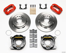Load image into Gallery viewer, Wilwood Forged Dynalite P/S Park Brake Kit Red Big Ford 2.36in Offset