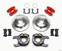 Load image into Gallery viewer, Wilwood D154 P/S Park Brake Kit Red Big Ford 2.36in Offset