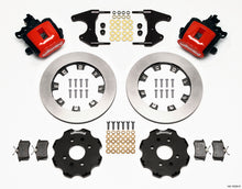 Load image into Gallery viewer, Wilwood Combination Parking Brake Rear Kit 12.19in Red Civic / Integra Drum 2.46 Hub Offset